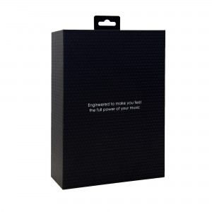 Europe style for Matte Black Shipping Box With Logo Recycled Paper Cardboard Small Black Postage Box Packaging Mail Postal Box