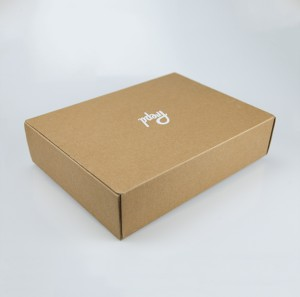 Clothes Packaging Corrugated Box Customized Logo Printing Gift Box