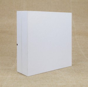 Custom Cardboard Rigid Paper Packaging Box with Flcoking EVA