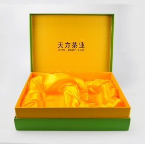 Factory best selling China Biodegradable Round Paper Tube Box for Tea with Wooden Lid