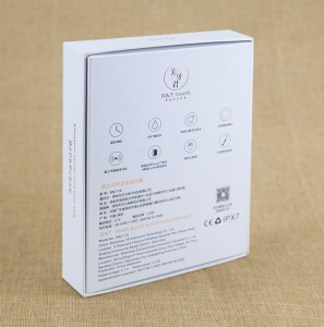 White Cardboard Gift Box OEM Design Paper Packaging Box foe Electronic Toothbrush