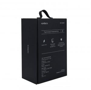 Bluetooth Speaker Black Paper Packaging Cardboard Gift Box