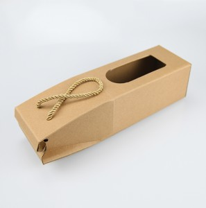 Custom Wine Paper Packaging Gift Boxes Eco-friendly Paper Gift Boxes