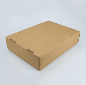 Kraft Paper Packaging Box Custom Logo Corrugated Box for Clothes