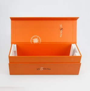 Custom Design Wine Packaging Gift Box Eco-friendly Paper Packaging