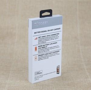 Custom Design Smart Phone Case Paper Box, Retail Packaging Box for Phone Case