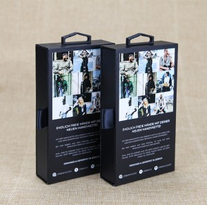 Free sample for China Custom Offset Printing Glossy Cardboard Phone Case Packaging Paper Box