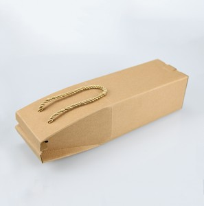 Recyclable Paper Gift Packaging for Wine Hangbag Gift Boxes