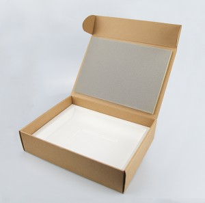 Clothes Paper Packaging Gift Box Corrugated Gift Box OEM Logo