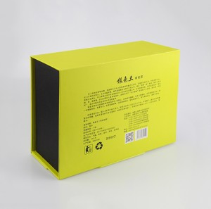 Custom Design Tea Gift Box Paper Packaging Box and Paper Hangbag