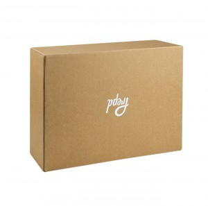 Corrugated Box Kraft Paper Packaging Box Clothes Packaging Gift Box