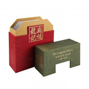 Wholesale Fashion Design Paper Tea Gift Packaging Box