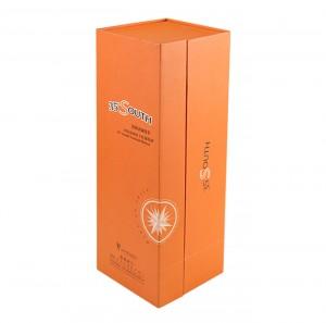 Wine Gift Box Rigid Cardboard Paper Packaging Gift Box with EVA