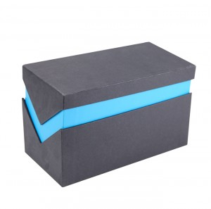 Lid and Base Gift Box Rigid Paper Gift Packaging Box with EVA Tray