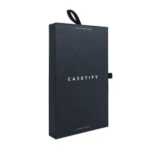 2019 Good Quality Custom Logo Luxury Cardboard Magnetic Folding Gift Box With Ribbon Closure