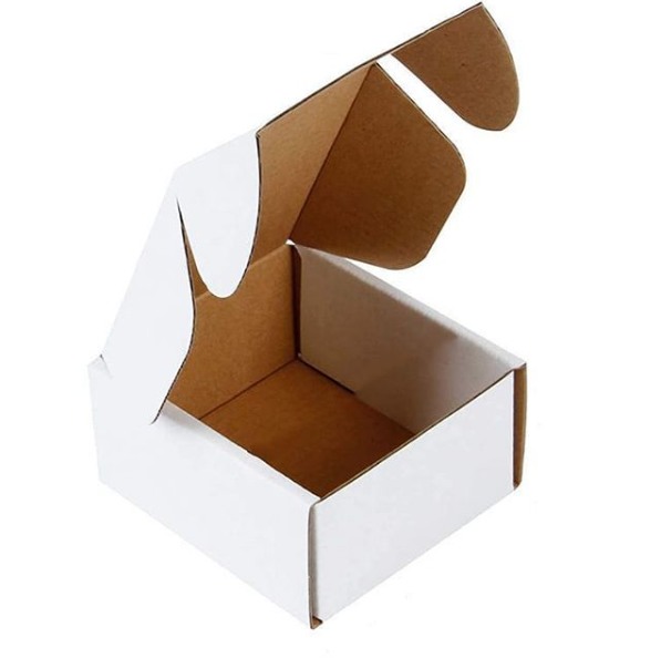 White Corrugated Packaging Gift Boxes Featured Image