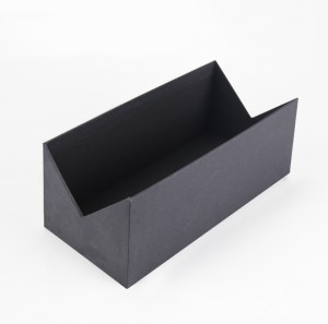 Blue and Black Cardboard Paper Gift Packaging Box with EVA