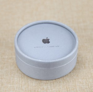 Silver Hot Stamping Custom Logo Cardboard Gift Box with EVA for iPhone