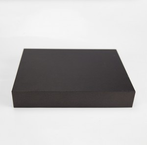 Factory Custom Clothes Cardboard Gift Box Black Rigid Paper Packaging Box