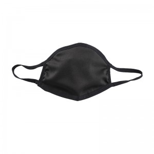 Customized Black Cotton Face Masks in Stock