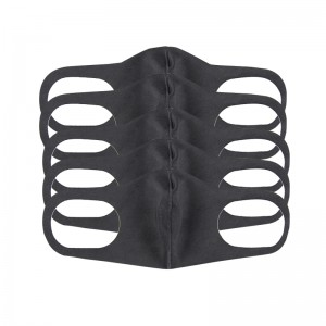 Wholesale Customized Black Cotton Face Masks in Stock