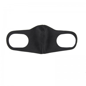 China Wholesale Customized Black Cotton Face Masks in Stock