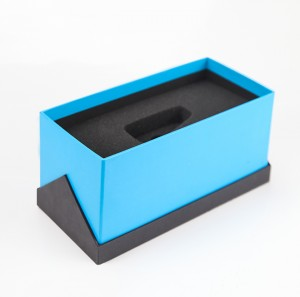 China Factory Wholesale Gift Box Paper Packaging Box with EVA