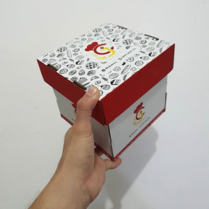 2020 Gathe Factory price for paper packaging box with fashionable design