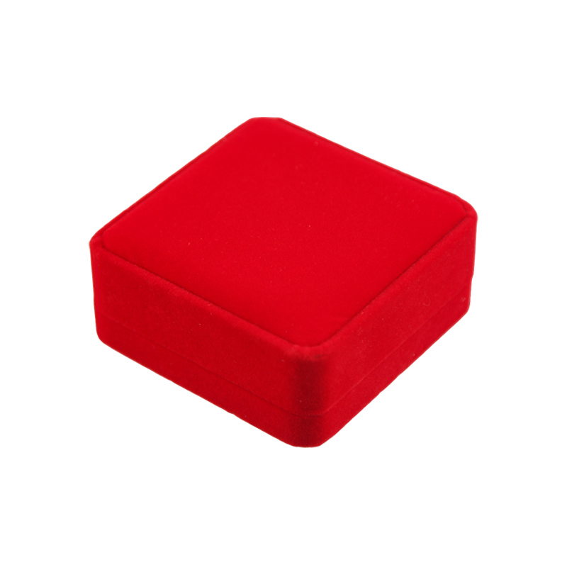 Luxurious Red Jewelry Gift Box Bracelet Gift Box Velvet Jewelry Packaging Box Featured Image