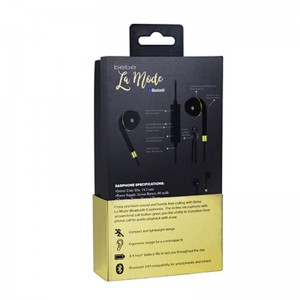 New design earphone packaging