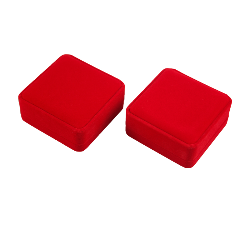 Luxurious Velvet Jewelry Packaging Box Red Jewelry Gift Box Bracelet Gift Box Featured Image
