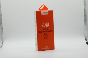 charger paper packaging box with favorable price blister packaging