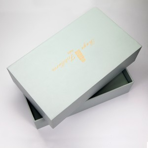 2019 cosmetics paper packaging gift box