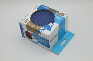 paper packaging box for charger with favorable price clear window