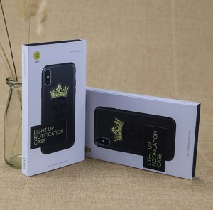 Eco-friendly Paper Packaging Custom Printing Logo Gift Box for Smart Phone Case