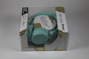 Factory price paper packaging gift box for headsets 2019