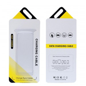Phone Box Packaging Magnetic Gift Box for USB cables popular design