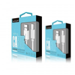 Cardboard Packaging Box Magnetic Gift Box for USB cables popular design